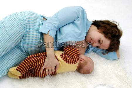 sonno e lallattamento al seno