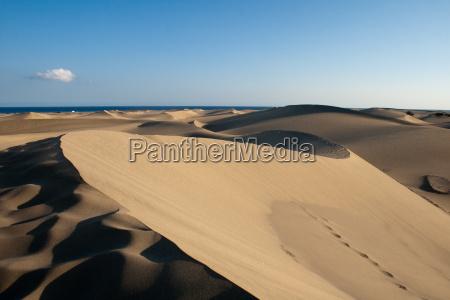 deserto sentire caldo dune duna sabbie