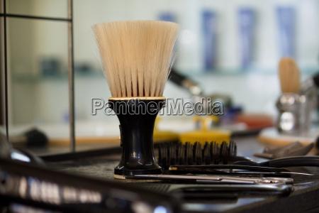 strumenti attrezzi risciacquare calore spazzola secco