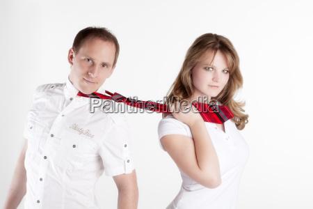 cravatta emancipazione rimorchiare coppia sicuro di