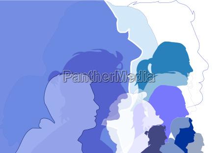 persone popolare uomo umano grafico illustrazione