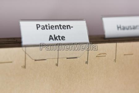i dati dei pazienti