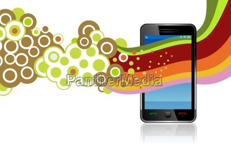 smartphone vector app
