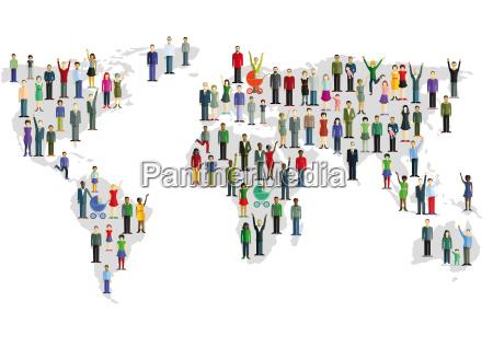 persone popolare uomo umano ambiente socialmente