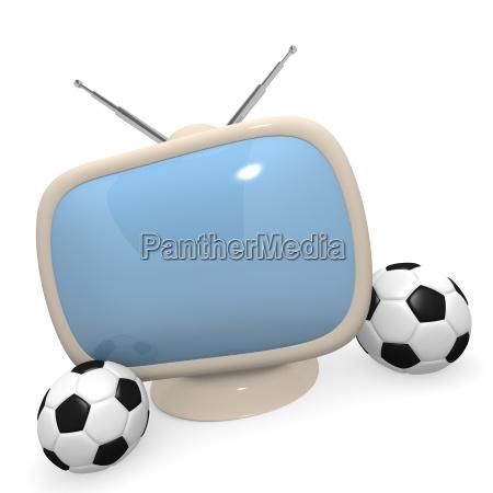 palla rendering 3d fussball konzept grafik