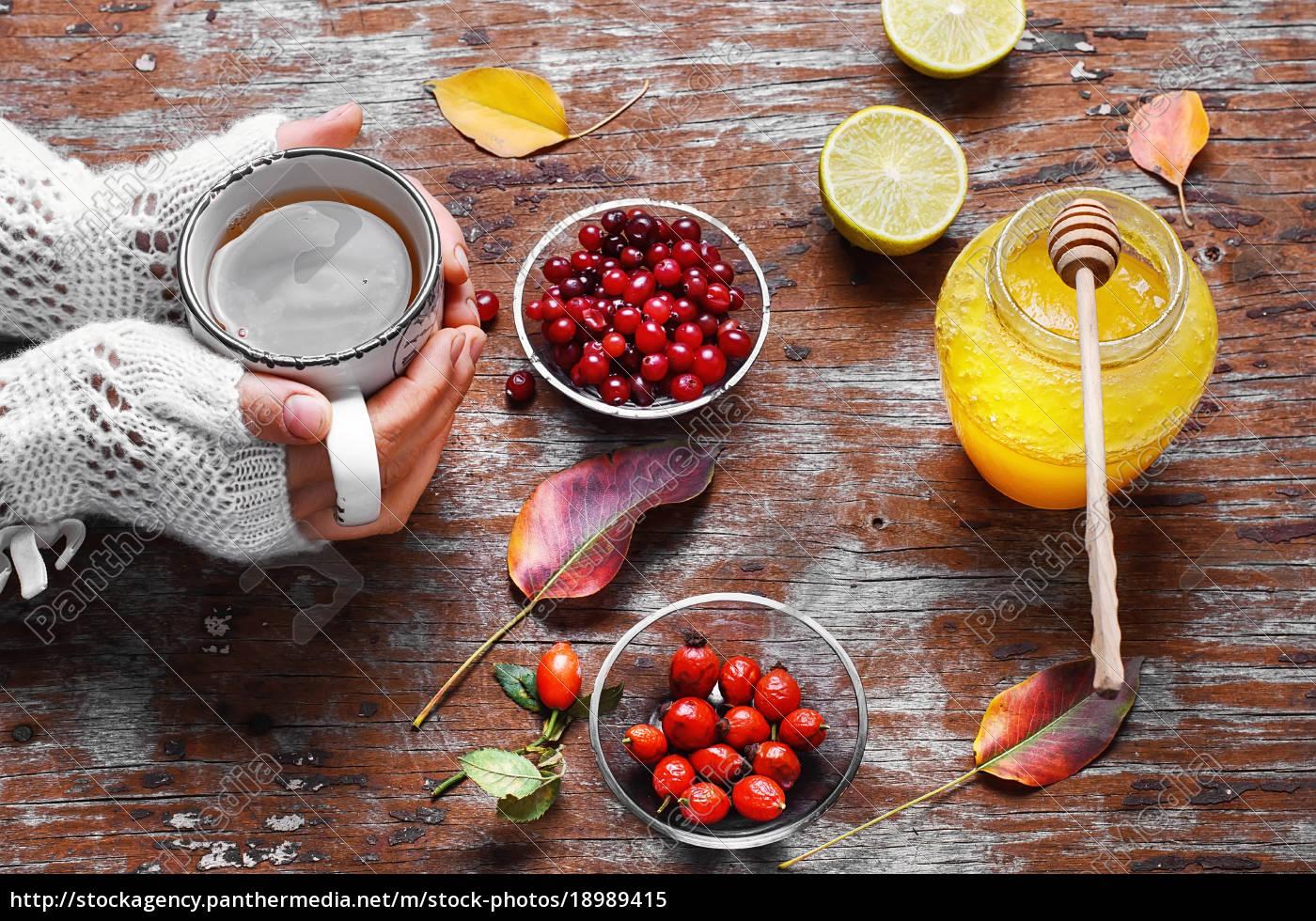 rimedio, da, bacche, e, miele - 18989415