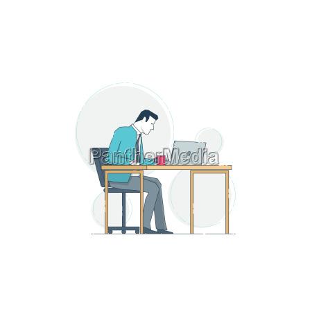 ufficio portatile computer scrivania avoro rilasciato